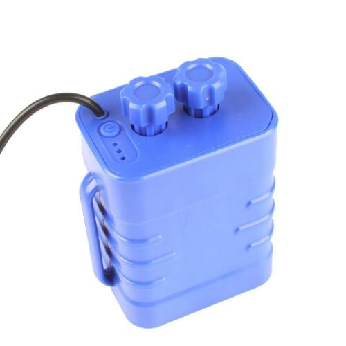 8.4V 6x 18650 Bicycle Bike Lamp Battery Pack Case House Cover Waterproof MZ