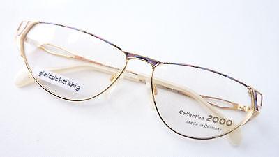 Aufstrebend Brille Brillenfassung Cateye Gestell Occhiali Glasses Schmuckbrille Size M Und Verdauung Hilft