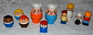 Vintage and Modern Playskool Little people and More
