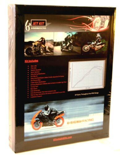 08-13 KTM 300 XC XCW Six Days 6Sigma Custom Carburetor Carb Stage 1-3 Jet Kit