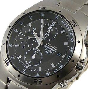 seiko chronograph titanium 100m manual