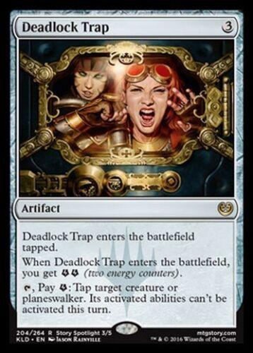2x Trappola Ermetica Deadlock Trap MTG MAGIC KLD Kaladesh Eng//Ita