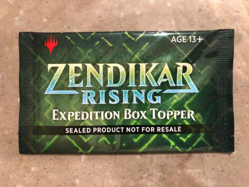 MTG Zendikar Rising Factory Sealed Box Topper