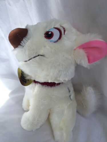 """Disney BOLT Dog Imperfect Low Quality Plush Toy Doll 8/"""" New Cheap USA Seller"""