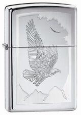 Zippo Windproof Eagle Lighter, Birds Of Prey, 21069, New In Box