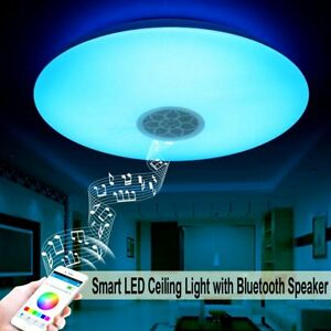 Autai Smart Led Ceiling Light Multi Color Changing And