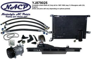 1987-1990 Jeep Wrangler YJ AC Kit 2.5L Engine   eBay