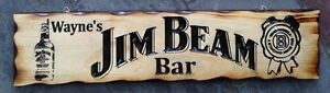 Personalised-Jim-Beam-Bar-Rustic-Pine-Timber-Sign-600mm-x-140mm