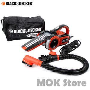 Black Decker Pav1205 Car Vacuum Cleaner Dustbuster Pivot Auto 12v