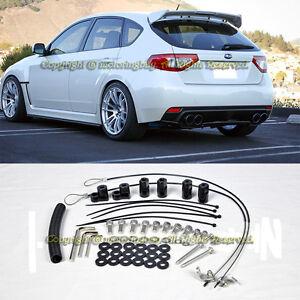For 08 14 Subaru Impreza Sti 11 14 Wrx Hatch 3dr Rear