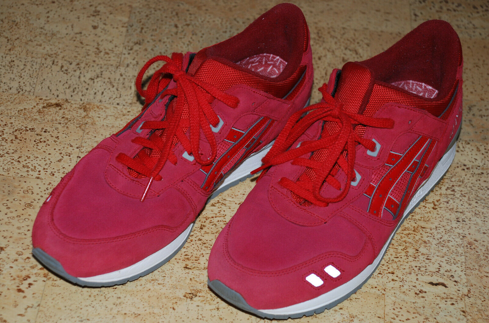 Asics Gel Lyte III Puddle Pack  rot