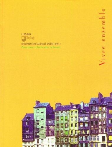 Very Good, Vivre Ensemble, The Open University, Book