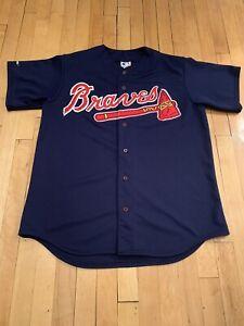 Atlanta-Braves-Vintage-90-s-Majestic-Jersey-EUC-XL-RARE-MLB