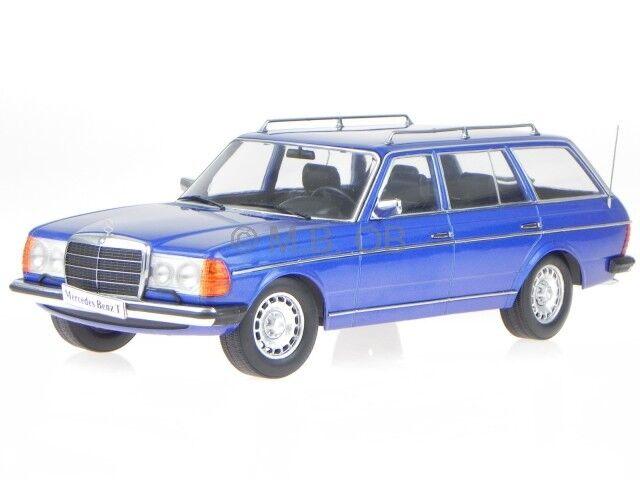 Mercedes S123 250 T blu coche en miniatura 18092 KK 1 18