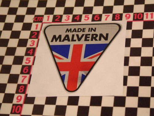 Made in Malvern Chrome Autocollant-Morgan Plus 4 Plus 8 sticker aufkleber