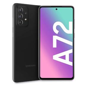 "SAMSUNG GALAXY A72 AWESOME BLACK 128GB ROM 6GB RAM 4G/LTE ANDROID DISPLAY 6.7"""