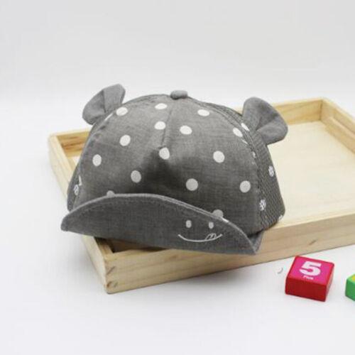 Baby Sun Hat Newborn Boy Girl Toddler Cotton Summer Cap Suit For 3-24 Months