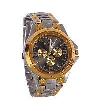 New Stylish Sober Wrist Watch for Men Silver Dial - SMROSGBD