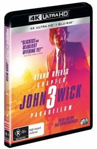 NEW John Wick Ultra HD (4K) Free Shipping