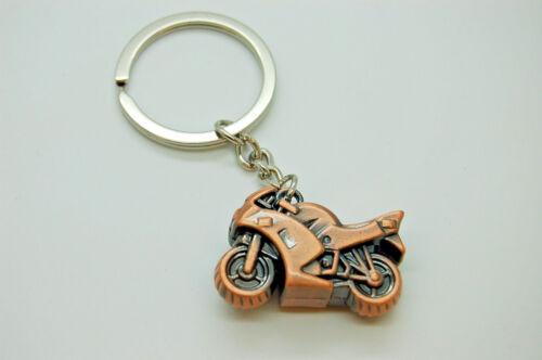 BIKERS KEYRING IDEAL GIFT MOTORCYCLE SHAPED KEYRING