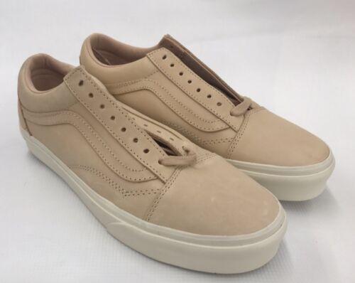 brunes skateboard 8 homme neuves de pour Veggie Chaussures Vans Old claires Dx en cuir Skool K1T3FJcl