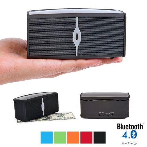 Alpatronix AX400 Universal 8W Bluetooth Wireless Boombox Stereo Speaker