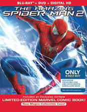 NEW The Amazing Spider-Man 2 (Blu-ray, DVD, Digital, Comic) Steelbook BestBuy