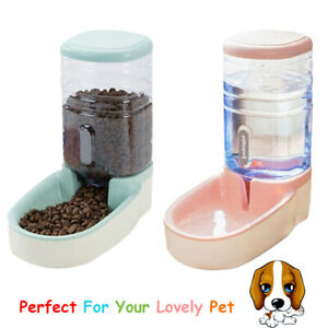 3-8L-Automatic-Pet-Feeder-Dog-Cat-Food-Water-Dispenser-Drinking-Bowl-Bottle-CY