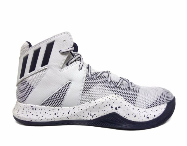 599a04b5bc56 adidas SM Crazy Bounce NBA Basketball Shoes White navy Size 14 B39300 B for  sale online