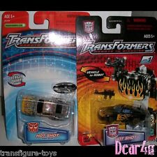 Transformers Robots In Disguise R.i.D - Spychanger HOtshot x 2 version MINT