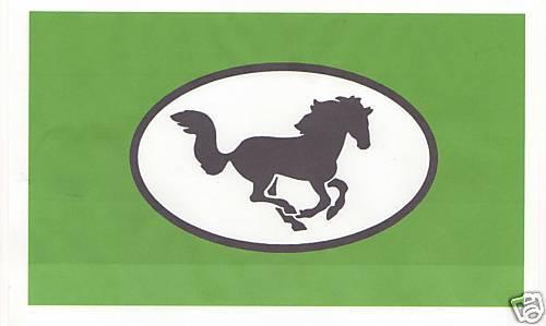2  horse box trailer stickers L@@k