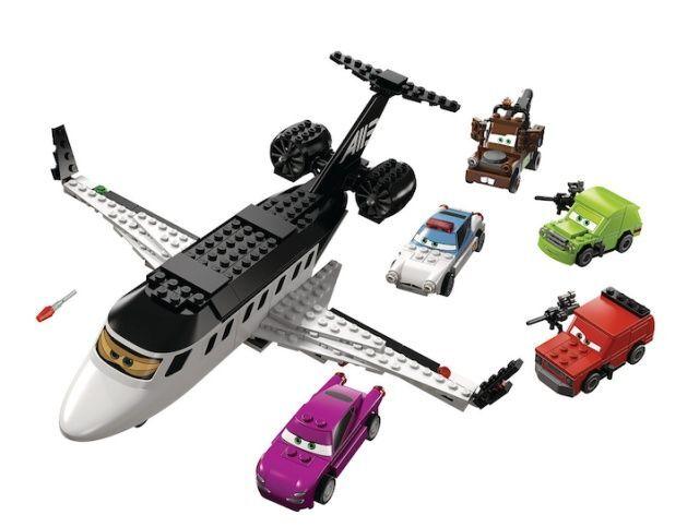Lego Cars 8638 Spy Jet Escape