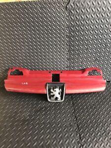 Peugeot-406-Rejilla-Parachoques-Delantera-Color-Rojo-9616258477