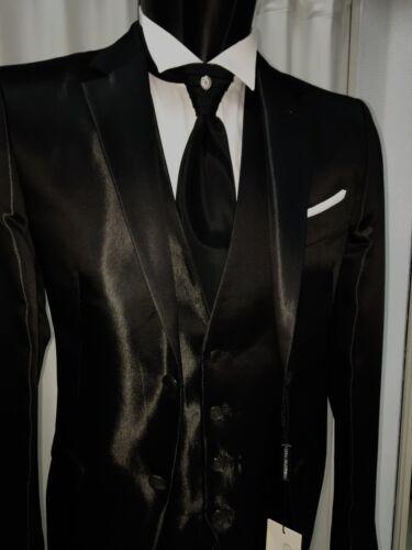 Sposo Wedding Suit Firmato Cerimonia Nero Pignatelli Unito Uomo Carlo Abito H8Fgqz4v