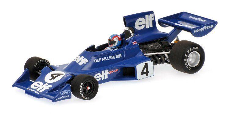 Joie de de de Noël, étape par étape Tyrrell Ford 007 P. Depailler 1974 #4 1:43 Model MINICHAMPS | Vente Chaude  577bbb