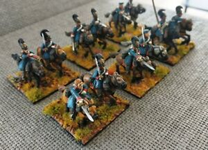 28mm Napoleonic 12 Painted Prussian Cuirassiers Wargames Foundry Metal Miniature