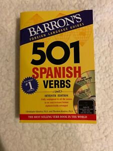 501 Spanish Verbs (7th Edition) (Barrons Foreign Language Guides)