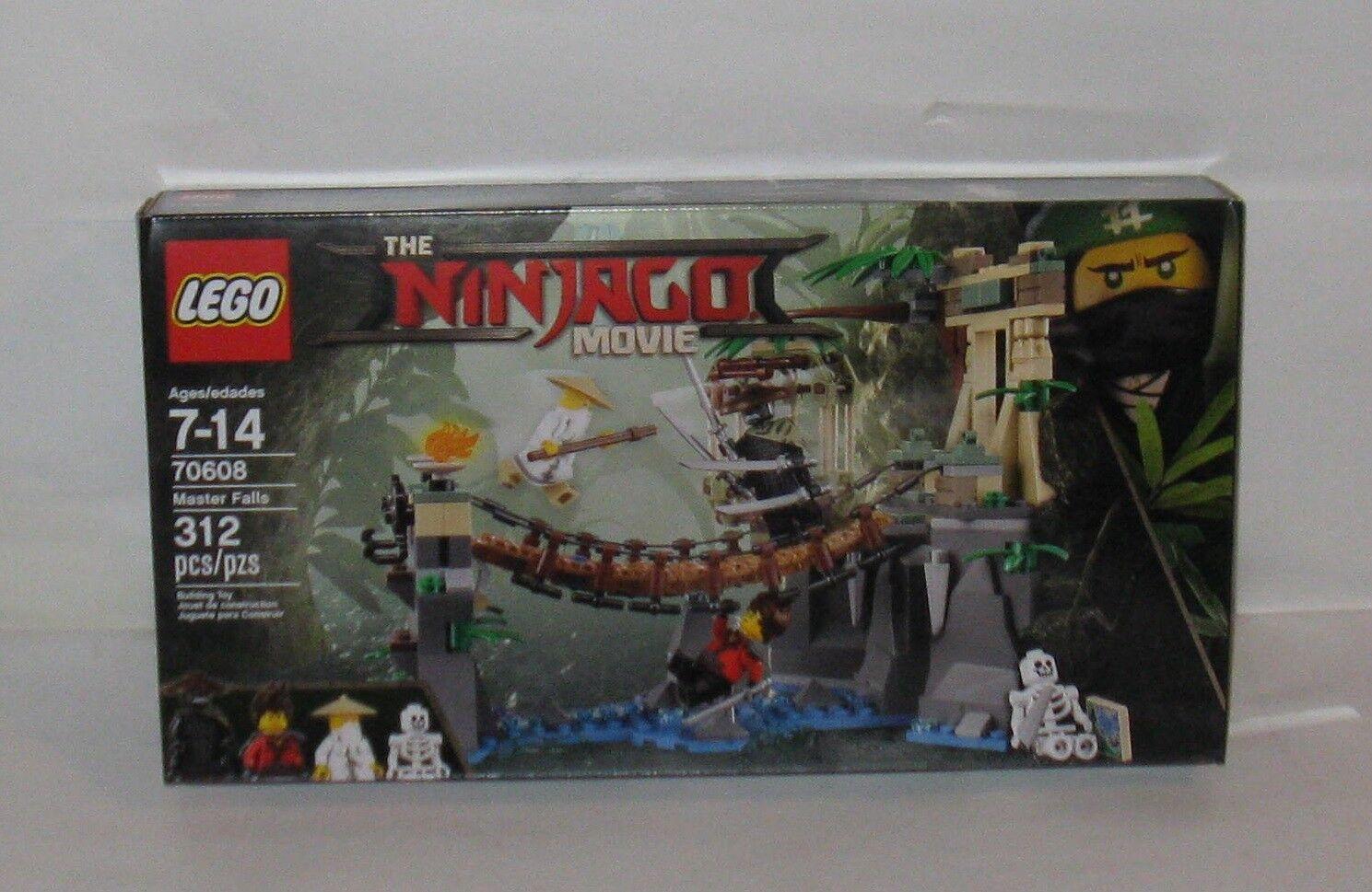 Lego The Ninjago Movie no 70608 Master Falls MB  FREE SHIPPING