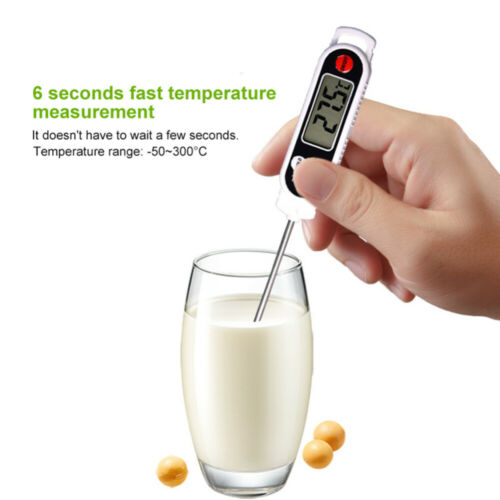 Wireless Remote Digital LCD Cooking Food Probe Meat Thermometer For Grill BBQ UK