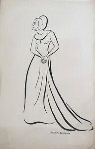 Lucienne-Pageot-Rousseaux-Drawing-Original-Ink-Daisy-Jackson-2