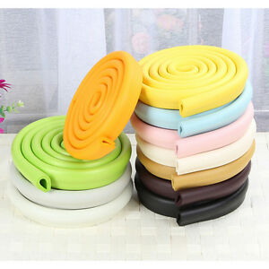 Baby Safety Corner Desk Edge Bumper Protection Cover Protector Table Cushion TK