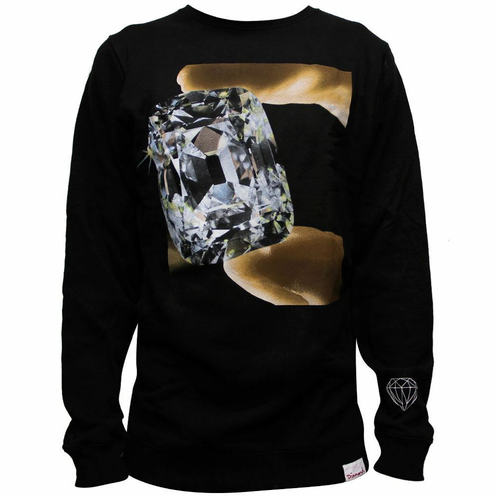 Diamond Supply Co Gem Sweatshirt Schwarz