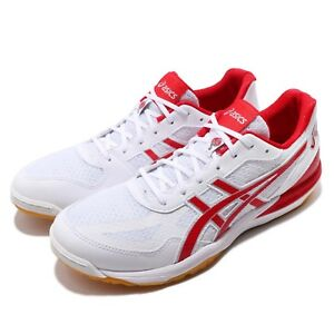 Asics-Rote-Japan-Lyte-FF-White-Red-Mens-Womens-Volleyball-Shoes-1053A002-145