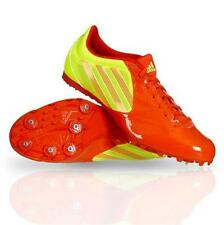 New Adidas Spider 3 Running/Long Jump Track & Field Shoes/Spikes - Orange/Yellow