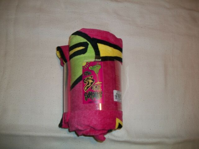 Southern Belle Giant Beach Towel Size 3/' Wide /& 6/' Long New In The Pack