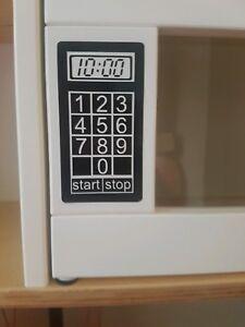 Dettagli su Giocattolo GIOCO CUCINA FORNO A MICROONDE Adesivo Vinile, Tuta  IKEA DUKTIG CUCINA- mostra il titolo originale