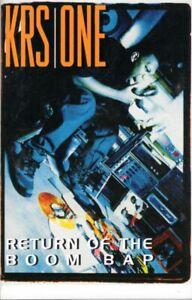 KRS-1 Return Of The Boom Bap 1993 Cassette Tape Album Hiphop Rap KRS One 1