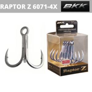 BKK RAPTOR Z 6071-4X-HG FISHING HOOKS FREE SHIPPING