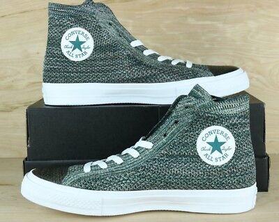 Converse 157509C Chuck Taylor All Star HI Flyknit Men Shoe TealWhite Size 9 | eBay