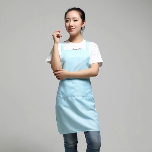 Uni Schürze mit Vortasche für Koch Metzger Kochen Backen BBQ Küchen Handwerk